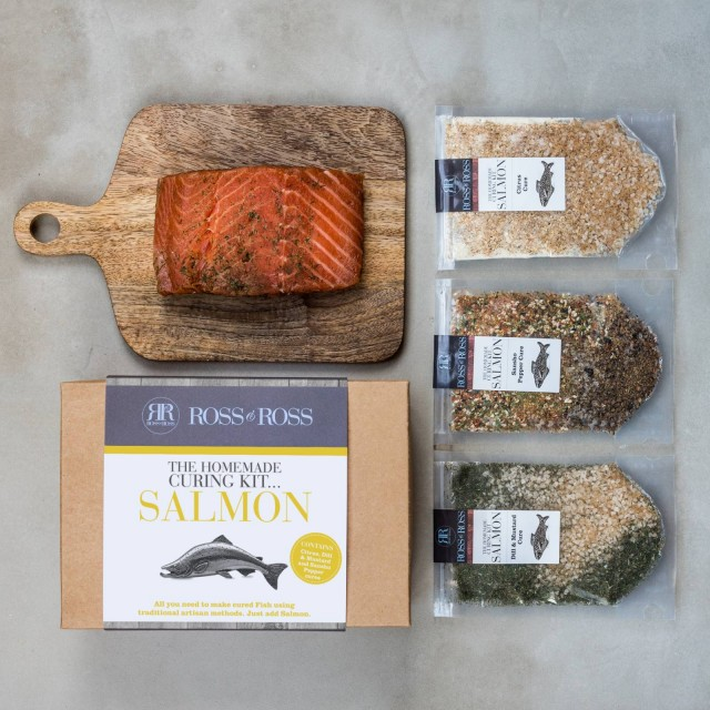 Homemade Salmon Curing Kit