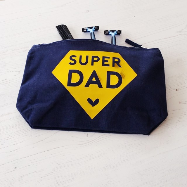 Super Dad Gents Wash Bag