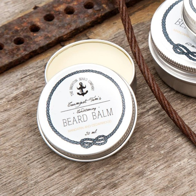 CREAMPOT TOM'S Mandarin & Cedarwood Beard Balm 30ML