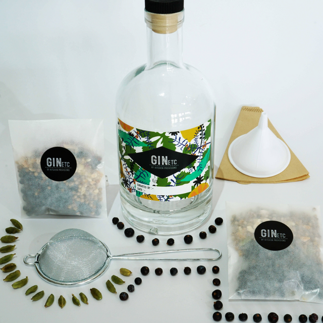 OwThe Artisan Make Your Own Gin Kit