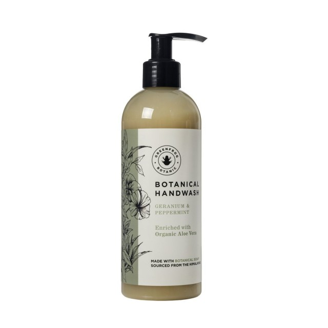 Botanical Handwash - Geranium And Peppermint 300ml