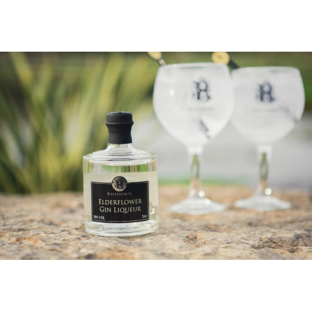 Raisthorpe Manor Elderflower Gin Stacker Base 20cl