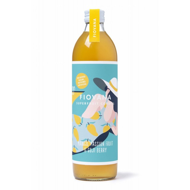 10% Off- Mango, Passion Fruit & Goji Berry Cordial
