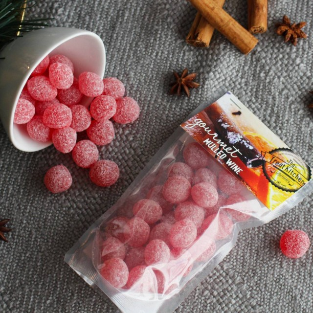 Mulled Wine Hardboiled Sweet Pouch