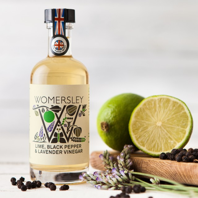 Lime, Blackpepper & Lavender Vinegar 100ml