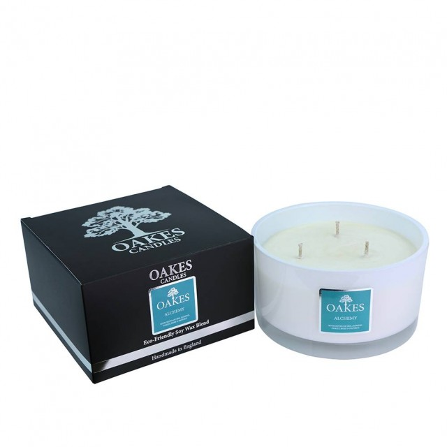 500g Luxury Boxed Three Wick Candle - Alchemy